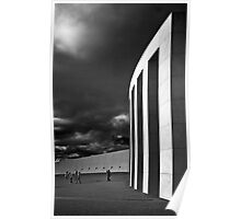 Parliment in Infrared Poster