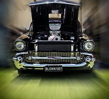 Blown 57 Chev by Stanislaw
