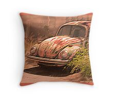 VW rusty-dusty-hot and waiting... 4 U ! Throw Pillow