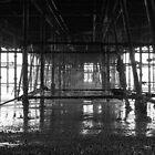 Ghost pier by Tony Hadfield