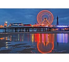 Blackpool Central Pier  Photographic Print