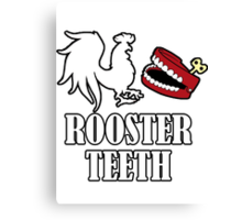 Rooster Teeth Logo Canvas Print