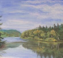 Nova Scotia Reflections 2 by Carolyn Bishop