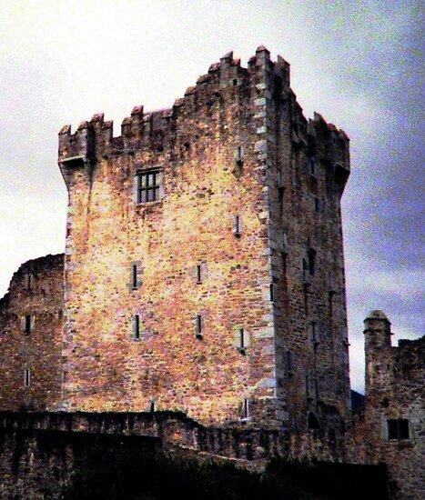 Ross Castle, Kilarney Ireland by AngieDavies