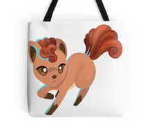 Leaping Vulpix Pokemon Design Tote Bag