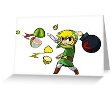 fruit zelda Greeting Card