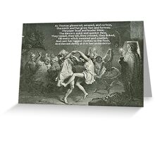 Tam O'Shanter Burns Night Celebrations Greeting Card