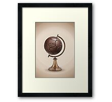 My World Framed Print