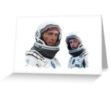 INTERSTELLAR - COOPER & BRAND Greeting Card