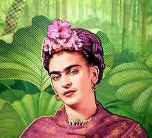 Frida Kahlo - Iconic Mexican Painter by Everett Day