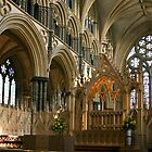 High altar : Lincoln cathedral by Colin Hollywood Photography