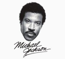 Lionel Richie X Michael Jackson Terrible Band T Shirt by BinaryHorizon