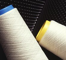 Cotton Yarn Coil by BravuraMedia