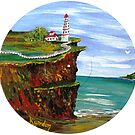 Kilauea Lighthouse  by WhiteDove Studio kj gordon