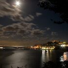 Moon over Procida by naranzaria