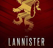 House Lannister Sigil III (house seat) by P3RF3KT