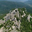 Cathar castle by William Mason