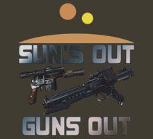 Sun's Out Guns Out! by igotashirt4u