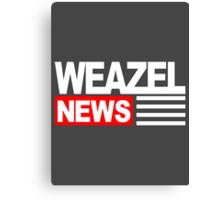 GTA V - Weazel News Canvas Print