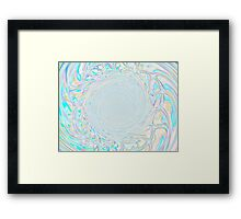 Web of Perception ~Through the Looking Glass Framed Print