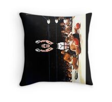 Super Punch Out Throw Pillow
