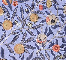 Vintage Fruit Leaf Floral Pattern by sale
