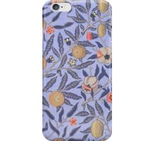 Vintage Fruit Leaf Floral Pattern iPhone Case/Skin