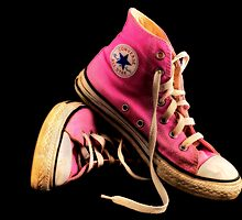 Pink Allstars by greenbunion