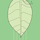 digital form - N01 - leaf by Jesse Bisset