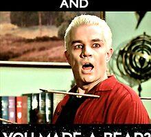 Spike - Keep Calm and You made a bear?? UNDO IT!! by goofyjeremy