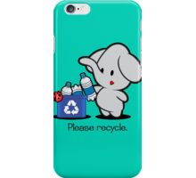 Farm Babies - Please recycle. iPhone Case/Skin