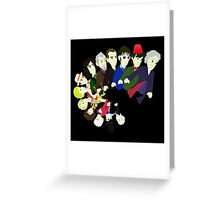 The 13 Puppet Doctors Greeting Card
