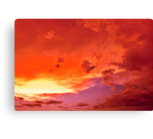 Evening moods Canvas Print