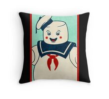 Ghostbusters (Stay Puft)  Throw Pillow
