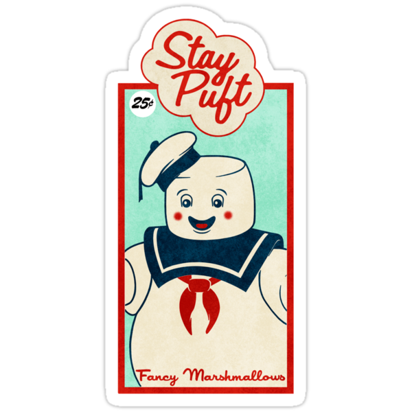 Ghostbusters (Stay Puft)  by LamericaTees
