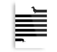 (Very) Long Dog Metal Print