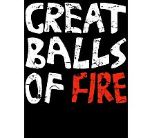 Great Balls of Fire #2 (Keith Moon) Photographic Print