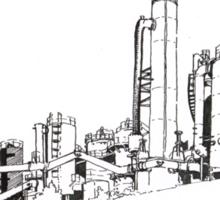 Gas Works Park Pen Sketching Sticker