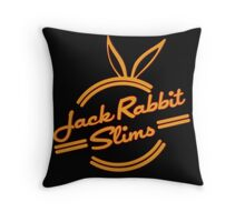 Inspired by Pulp Fiction (Jack Rabbit Slims) Throw Pillow