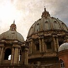 Saint Peter's basilica, Rome, Italy by buttonpresser