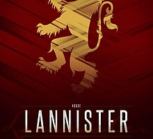 House Lannister Sigil III (house words) by P3RF3KT