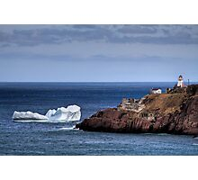 Fort Amherst Berg Photographic Print