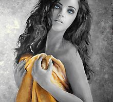 Girl with yellow robe by Ivan Pili