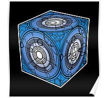 "Tardis ""Siege Mod"" Blue - Doctor Who Poster"