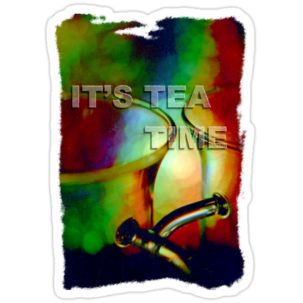 Tea time dreaming (T-Shirt) by Lenka
