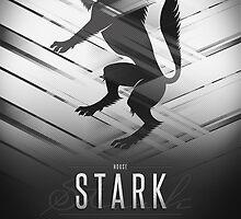 House Stark Sigil III (house words) by P3RF3KT