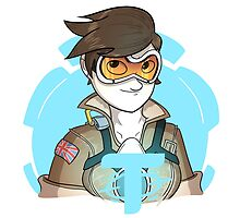 Overwatch: Tracer by TheCatt