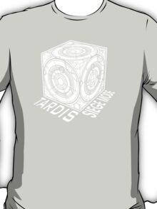 "Tardis ""Siege Mod"" Title - Doctor Who T-Shirt"