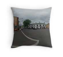 Carrick Crossroads, Donegal(Rectangular)  Throw Pillow
