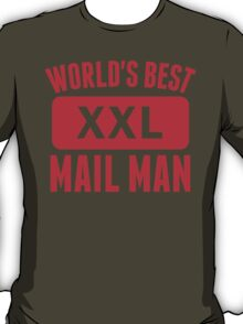 World's Best Mail Man T-Shirt